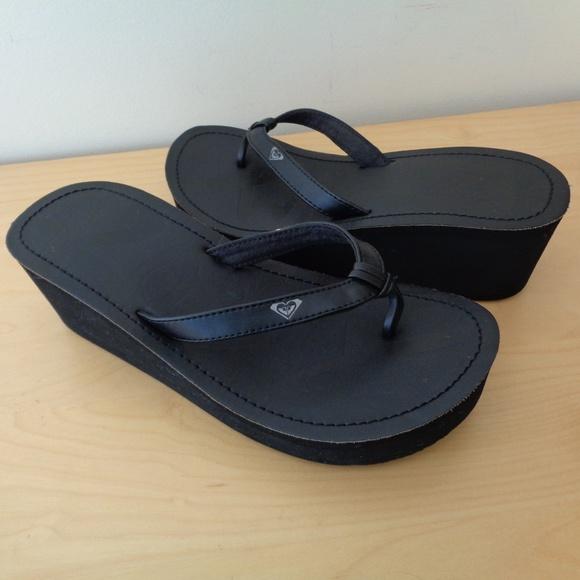 df36229753 ... Black Wedge Platform Flip Flop Sandals. M_5aebaabb31a3765d8f3bd59f